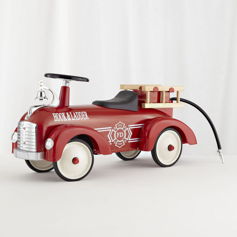 Dalmatian&#39;s Choice Fire Engine