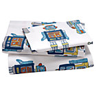 Twin Robot Sheet Set(includes 1 fitted sheet, 1 flat sheet and 1 case)