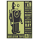 Outer Space Robot Wall Art (Unframed)