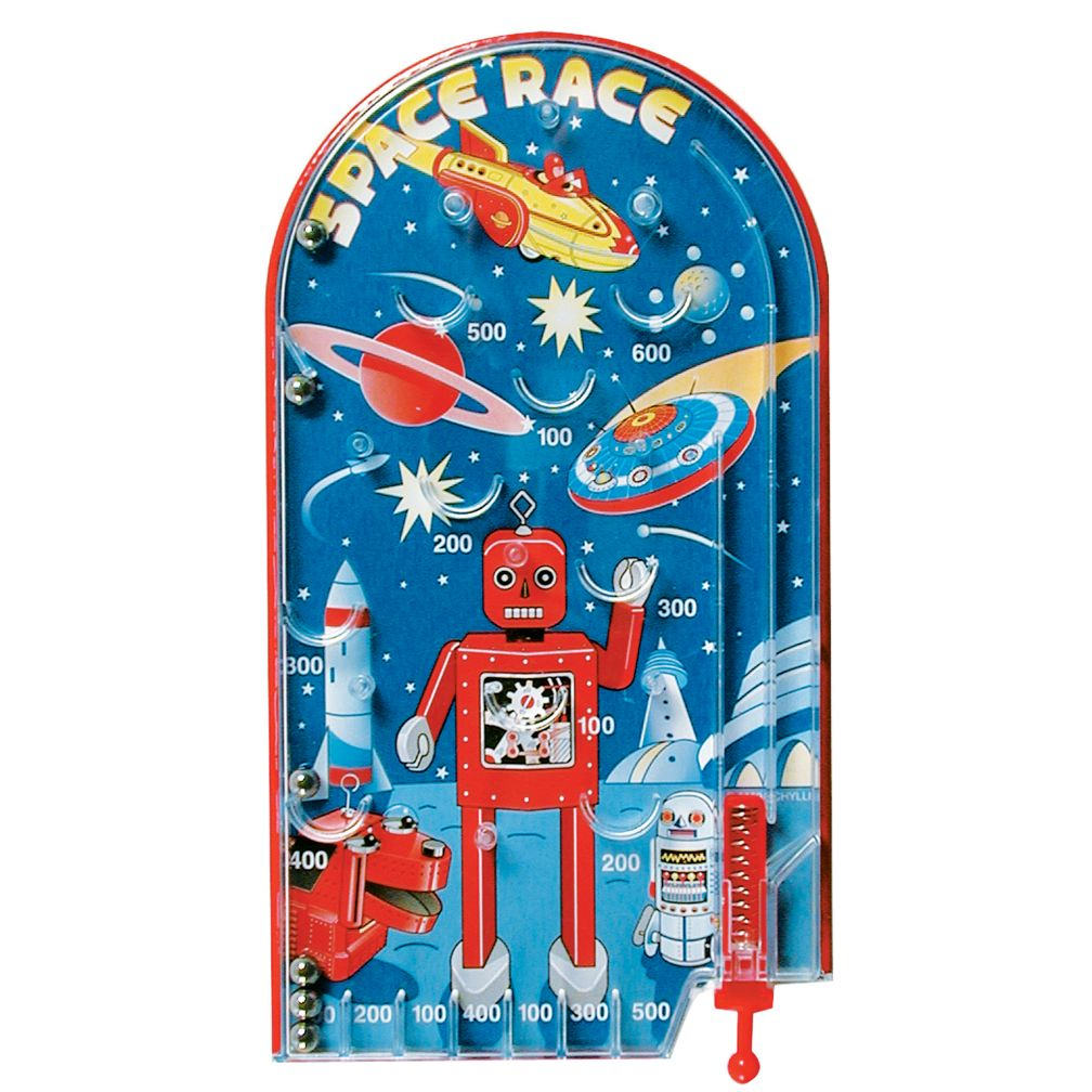Space Race Pinball Game