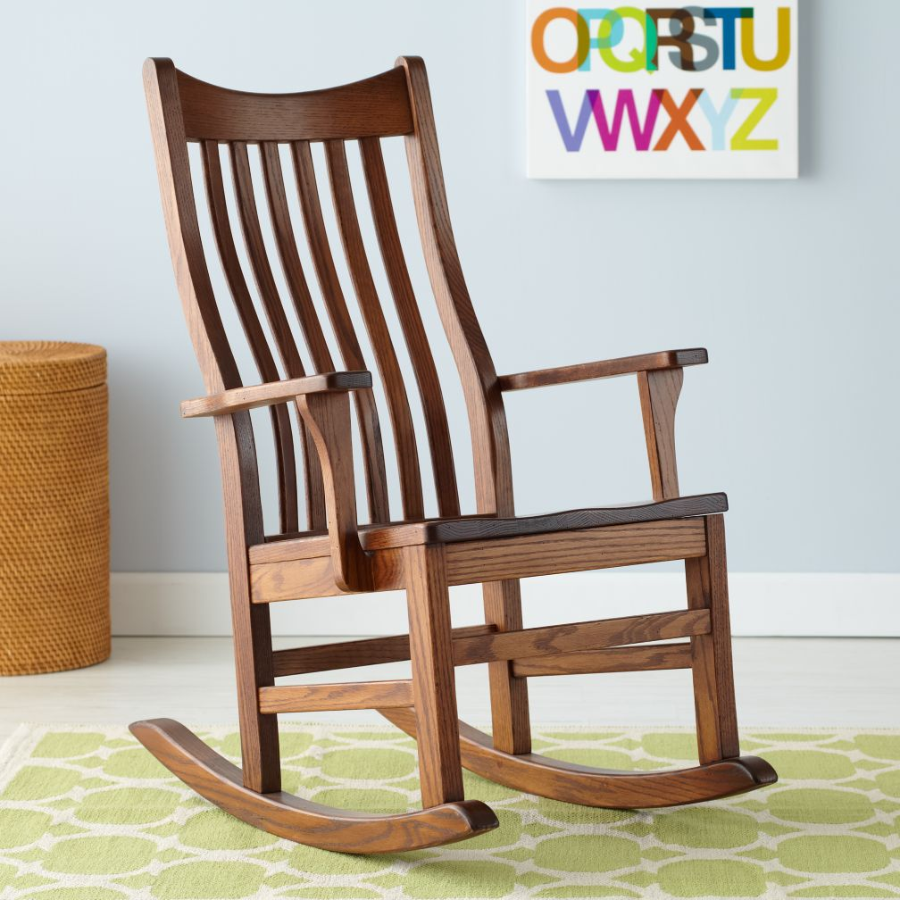Classic Wooden Rocker
