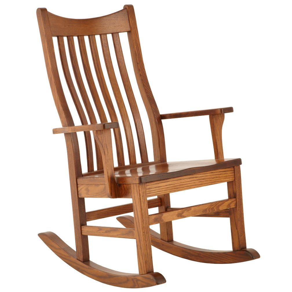 Classic Wooden Rocking Chair<br /><br /><br />