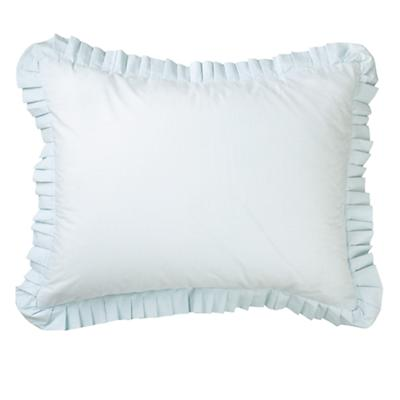 Bedding of Roses Ruffle Sham (Blue)