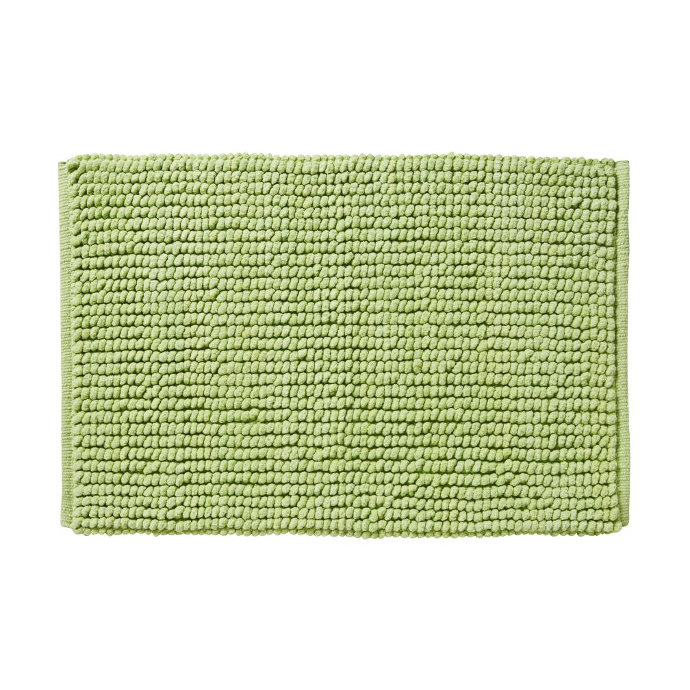 Rub-A-Dub Chenille Nub Bath Mat (Green)