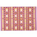Aztec Support Rug (Purple)