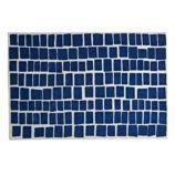 4' x 6' Blue Bars Rug