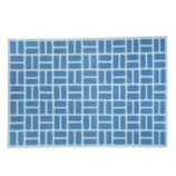 Brick by Brick Rug (Blue)