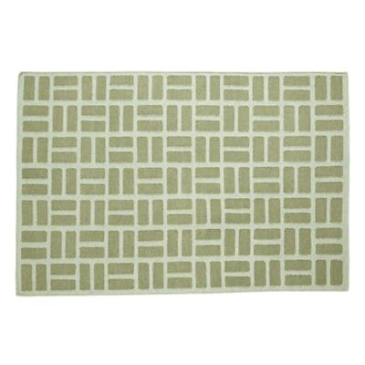 Brick by Brick Rug (Green)
