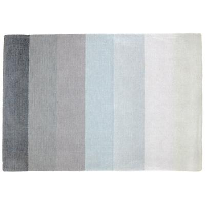 5 x 8' Broad Stripe Rug (Grey-White)
