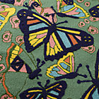 Swatch Butterfly Rug