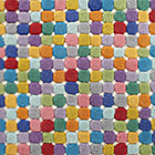 Swatch Jellybean Multi Dot Rug