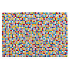 8 x 10' Jellybean Multi Dot Rug