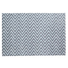 4 x &amp;#39;6 Grey Zig Zag Rug