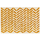 8 x 10' Yellow Gold Bars Rug