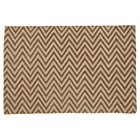 4 x 6&amp;#39; Khaki Zig Zag Rug