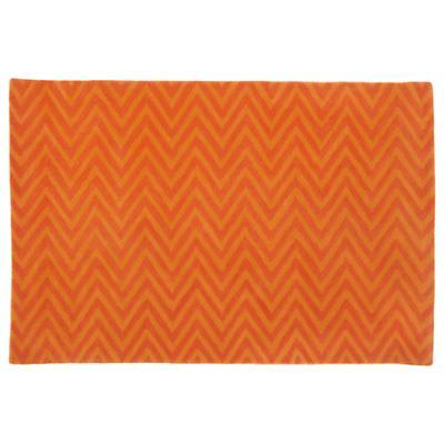5 x 8'  Zig Zag Rug (Orange)