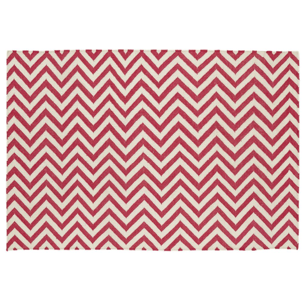 4 x 6&#39; Chevron Rug (Pink)