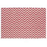 Chevron and On Rug (Pink)