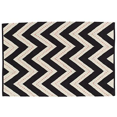 4 x 6' Two-Lane Chevron Rug