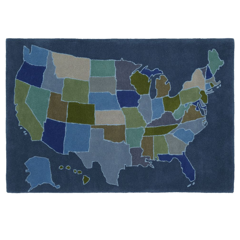 4 x 6&#39; Coast to Coast Rug (Blue)