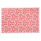 Crow&#39;s Feet Rug (Pink)