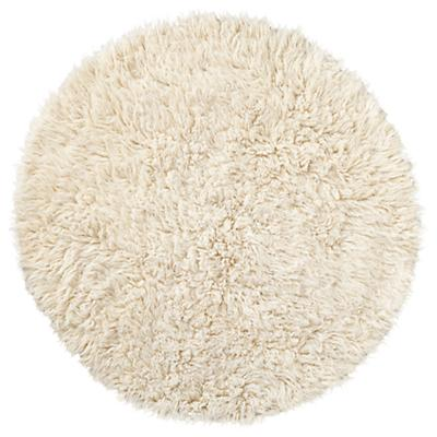 Flokati Fluff Rug Round The Land Of Nod