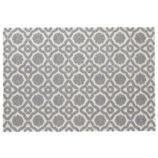 5 x 8' Garden Trellis Rug (Grey)