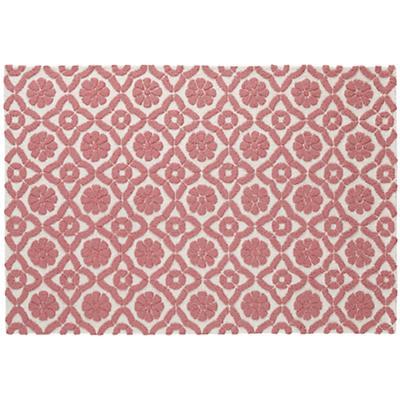 5 x 8' Garden Trellis Rug (Pink)