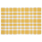 5 x 8' Yellow Pastel Plaid Rug