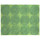4 x 5' Green Honey Bun Rug