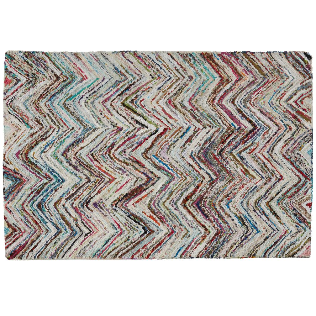 5 x 8&#39; Color Static Rug