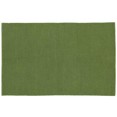 4 x 6' Green Sweater on the Floor Rug
