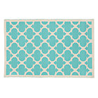 8 x 10' Blue Aqua Magic Carpet Rug