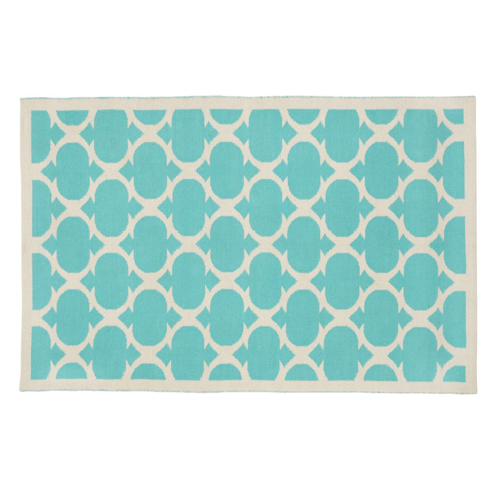 8 x 10' Magic Carpet Rug (Aqua)