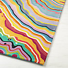 Swatch Tectonic Multi Color Rug
