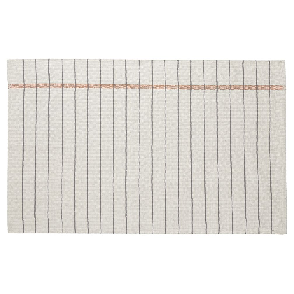 8 x 10' Stripe Notebook Rug