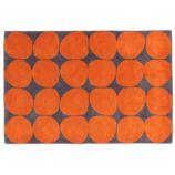 8 x 10' Ink Spot Rug (Orange)