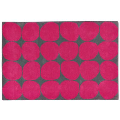 8 x 10' Ink Spot Rug (Pink)