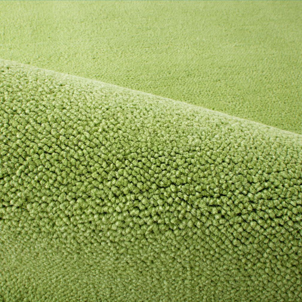 Preppy Pastel Green Rug Swatch