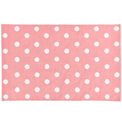 5 x 8' Lotsa Polka Dots Rug (Pink)