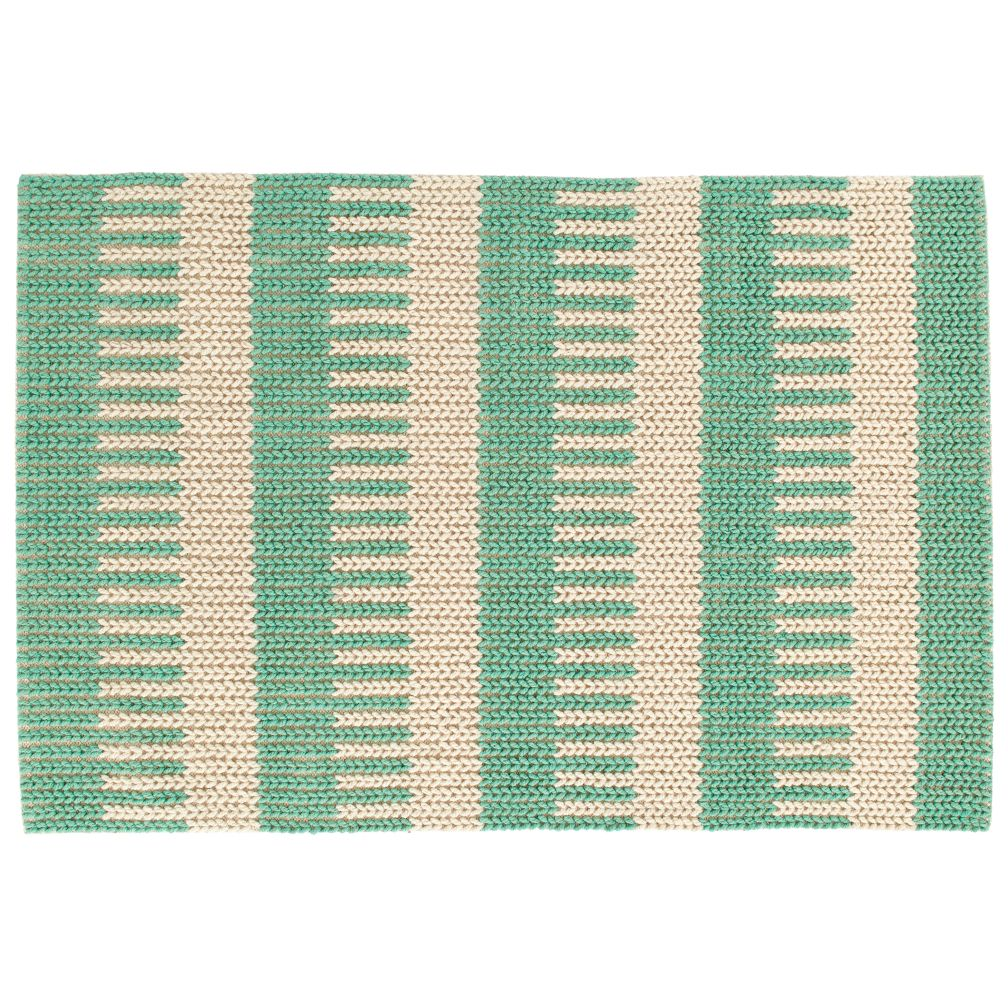 88-Key Rug Swatch (Teal)
