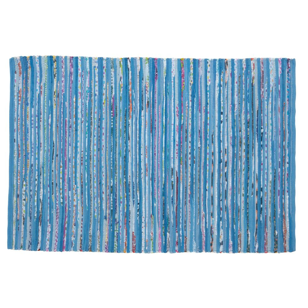 4 x 6&#39; Color Inside the Lines Rug (Blue)