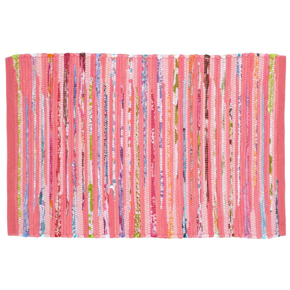 4 x 6&#39; Color Inside the Lines Rug (Pink)