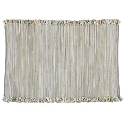 8 x 10' Ribbon Cutting Rug (Grey)