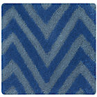 Swatch Blue Zig Zag Rug