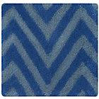 Swatch Blue Zig Zag Rug