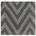 Swatch Grey Zig Zag Rug