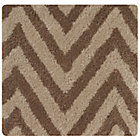 Swatch Khaki Zig Zag Rug