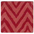 Swatch Pink Zig Zag Rug