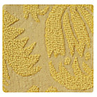 Swatch Yellow Raised Floral Rug